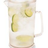 Carafa cilindrica pentru limonada sau apa cu gheata