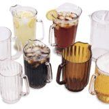 Carafe diverse culori, pentru bere, limonade, apa cu gheata