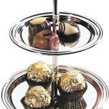 Etajera Classic, decorativa si functionala. ideala pentru expunerea produselor din cacao, a ciocolatei sau a produselor zaharoase Dimensiuni disponibile 11 si 14cm