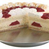 Suport pentru tort, inox satinat Diametru 31cm, inaltime 4 cm, heavy duty