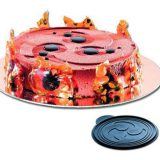 Disc din silicon pentru decorarea deserturilor, Decor Spirala diametru 24cm