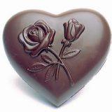 Forma bomboane inima decorata