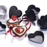 Forma pentru deserturi cu aspect de inimioara, realizata din Exopan, disponibila in diferite dimensiuni