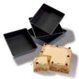 Forma pentru mini prajiturele patrate, realizata din Exopan, disponibila in diferite dimensiuni