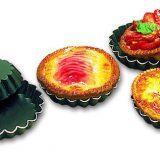 Forma pentru mini tarte canelate, realizata din Exal, diferite dimensiuni de la 6 pana la 12 cm