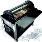 Fresh Magic Pro 125, stand expunere si servire inghetata, tavi GN, 5 vaschete a 3litri sau 12 vaschete a 0,6litri