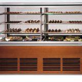 GARGANO, vitrina frigorifica pentru prezentare cu 4 nivele