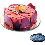 Rozeta, Disc din silicon pentru decorarea deserturilor, diametru 24 cm