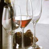 Winelovers   linie clasica, simplista din sticla innobilata, import Germania, compusa din trei pahare   vin alb, vin rosu si sampanie