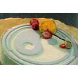 Yng & YAng, Disc din silicon pentru decorarea deserturilor, diametru 24 cm