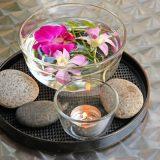 vase din sticla, ceramica, piatra