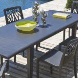 Alpha, set masa si scaune pentru terasa, asortate