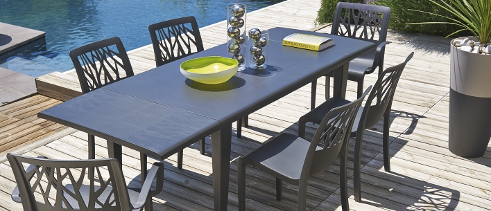 Mobilier terase leida impex - Chaises grosfillex jardin ...