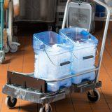 Carucior si containere pentru gheata