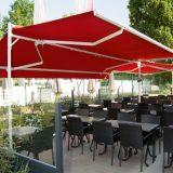 Collection, parasolar mobil, structura otel si aluminiu, actionare manuala sau electrica, diverse culori