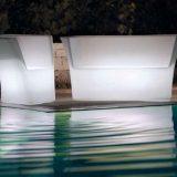 Diamante, set luminos de fotolii, canapele pentru terasa si piscina