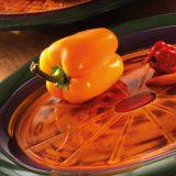 Hot Cha Cha  set boluri si farfurii pentru evenimete cu tema meditareneeana, culori vii, inspirate