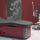 MLW, linie de mese pentru proceduri SPA sau Medi Spa, actionate electric, foarte versatile