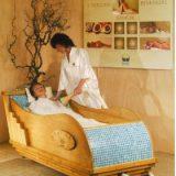 Salina, pat de relaxare in patura de sare cu temperatura reglabila
