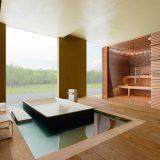 Sauna, solutie completa, pentru orice spatiu, perfect functionala, diverse dimensiuni, finisaje si tehnologii