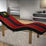 Scaun ergonomic pentru masaj relaxare prin rezonanta acustica