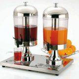 Star   juice dispenser, inox si sticla, elemente de racire, 8 litri, , variante cu un dispenser sau Duo cu doua dispensere pe un suport
