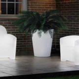 Trinidad, set luminos de fotolii, canapele pentru terasa si piscina
