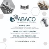 Tacamuri si ustensile antibacteriene Mepra ABACO